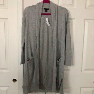 J. Crew Lightweight Long Cardigan Sweater